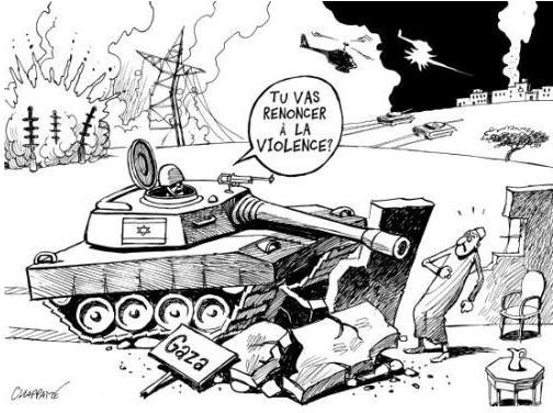 israel-gaza opération plomb durci