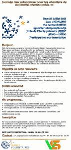 Journée de formation France Volontaires