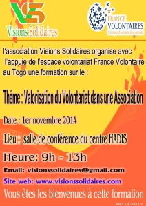 FORMATION VALORISATION DU VOLONTAIRIAT