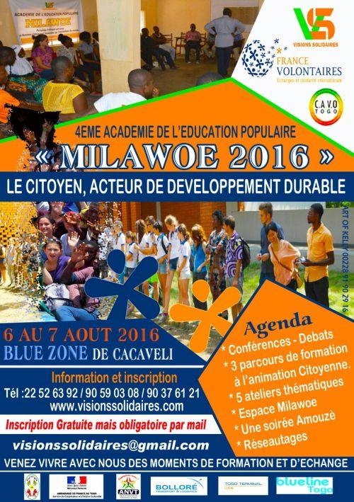 Affiche Milawoe 2016