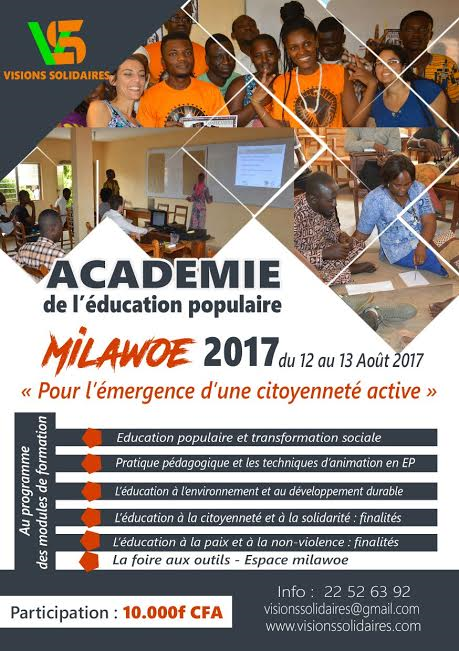 Académie Milawoe 2017