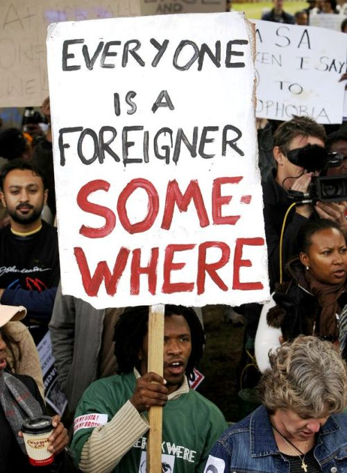 everyone is a foreigner