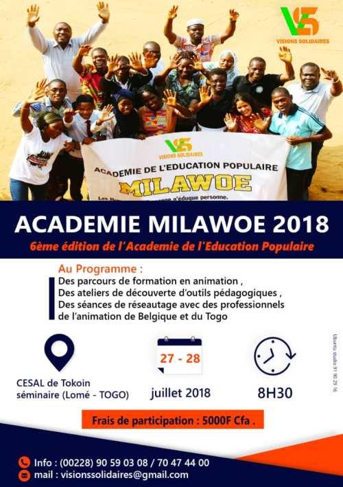 Affiche Milawoe 2018