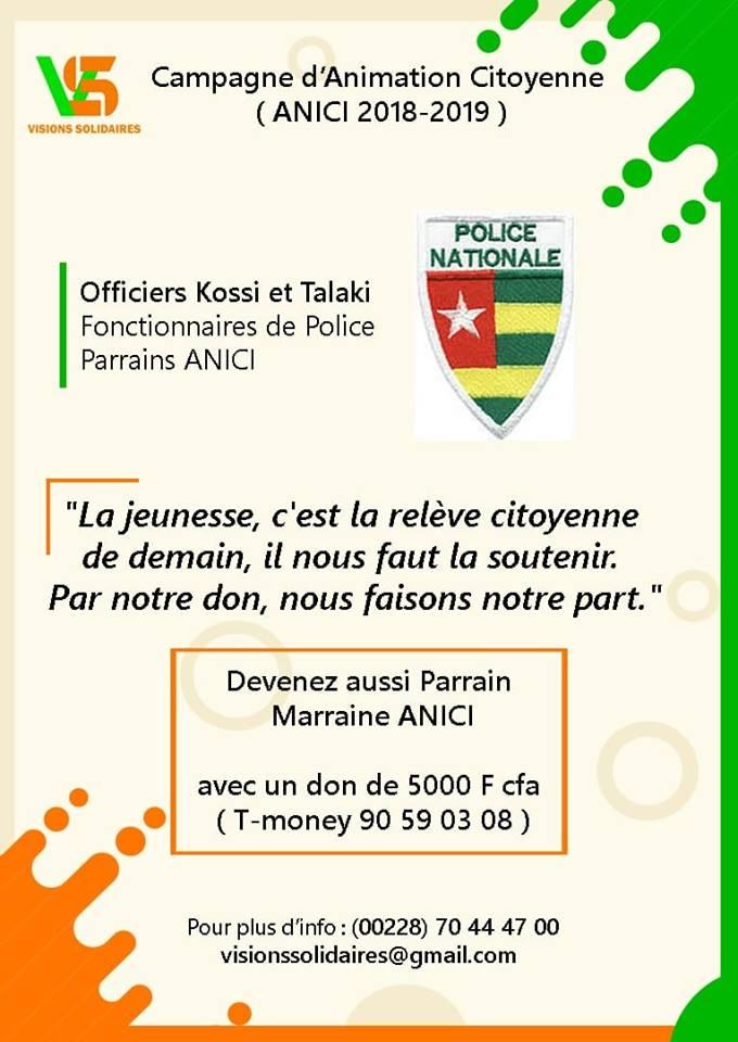 Parrain Officiers de police
