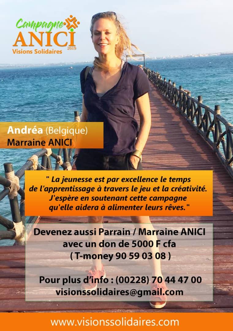 Marraine Andréa
